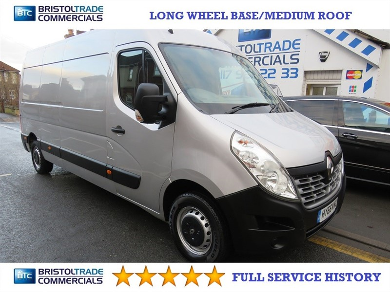 used Renault Master LM35 BUSINESS DCI S/R P/V in bristol