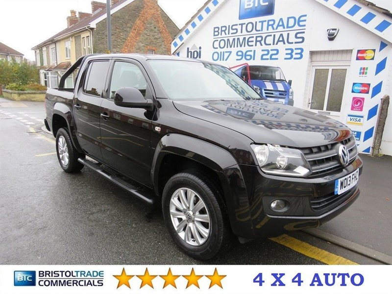 used VW Amarok DC TDI EDITION 4MOTION in bristol