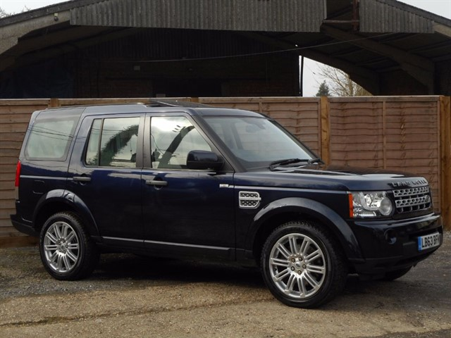 used Land Rover Discovery 4 SDV6 HSE