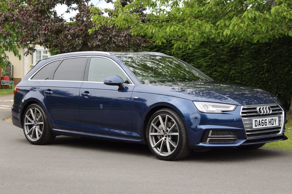 Used Scuba Blue Audi A4 Avant For Sale Hertfordshire