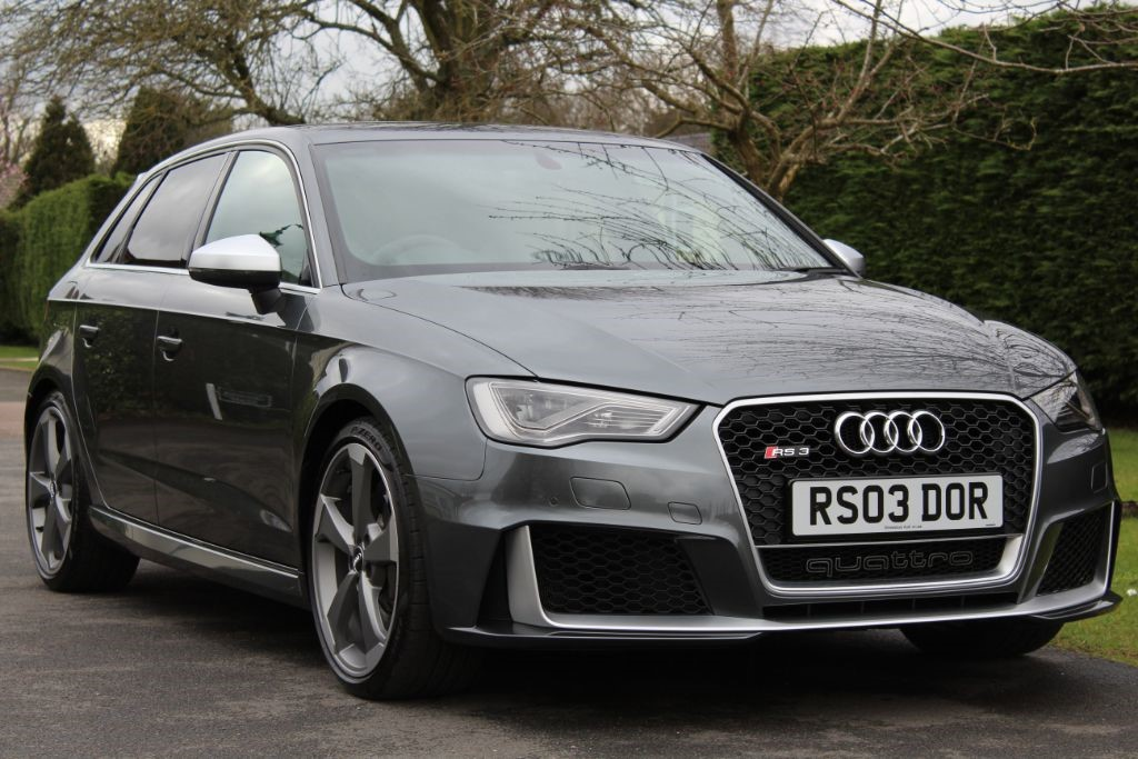Used Daytona Grey Audi Rs3 For Sale Hertfordshire