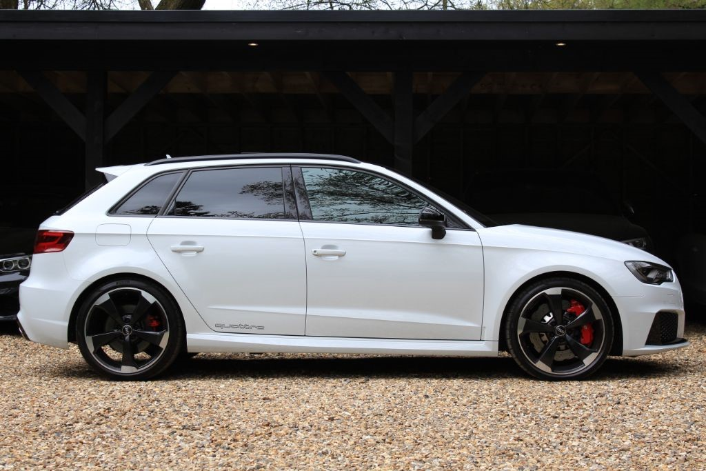 used glacier white audi rs3 for sale hertfordshire. Black Bedroom Furniture Sets. Home Design Ideas