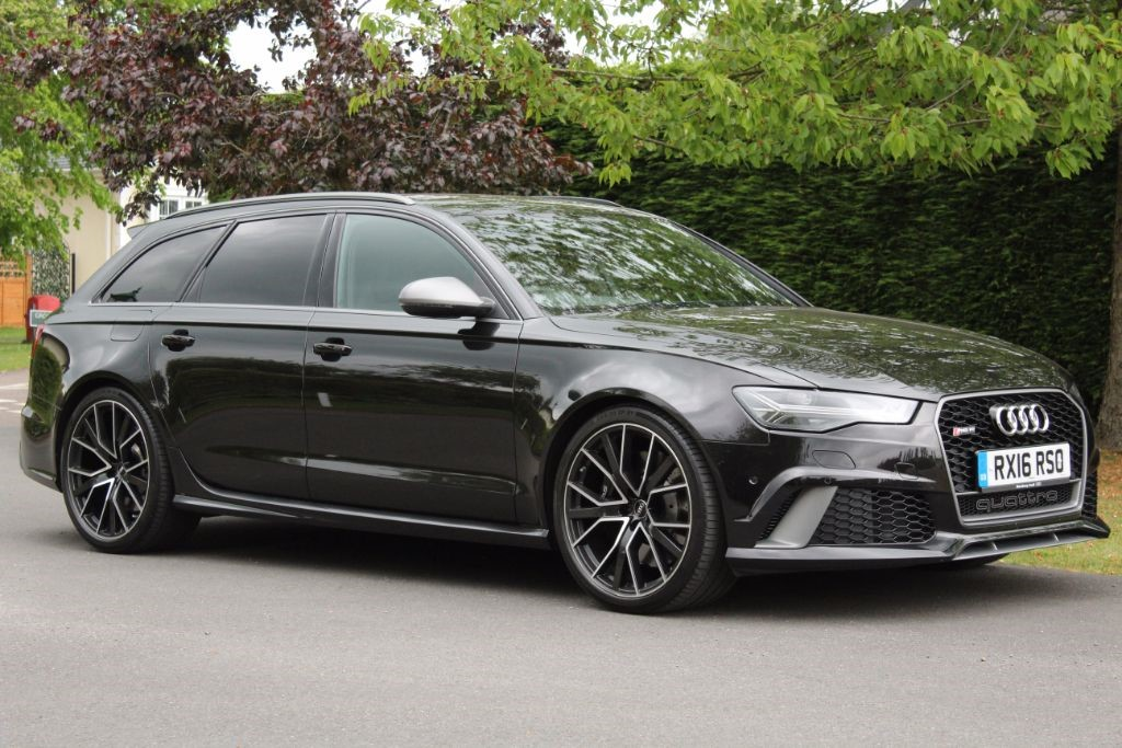 Used Panther Black Audi Rs6 Avant Performance For Sale Hertfordshire