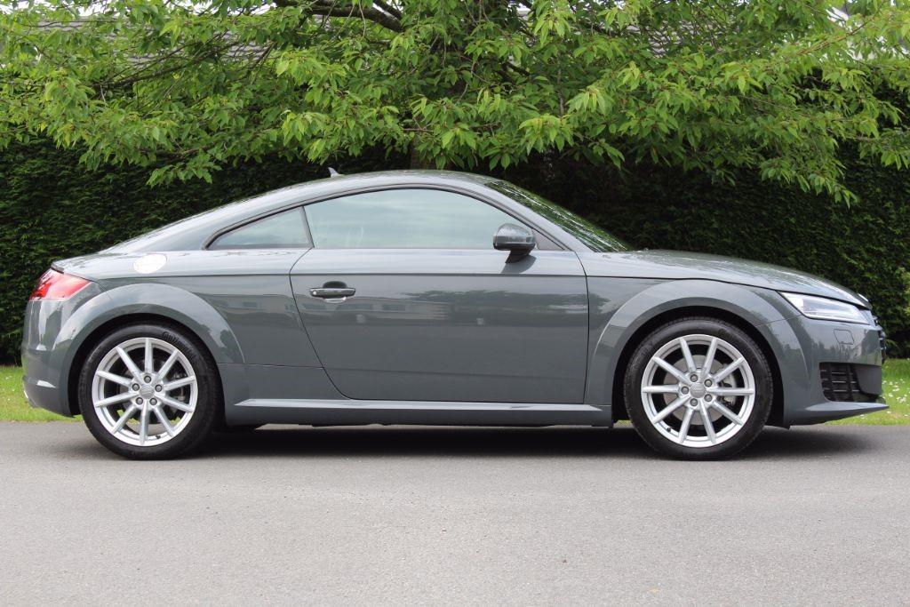 Used Nano Grey Audi Tt For Sale Hertfordshire