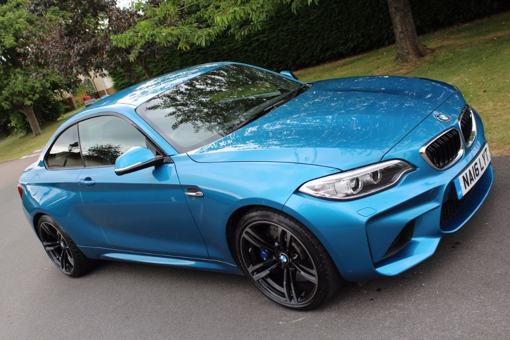 Used Long Beach Blue BMW M2 for Sale  Hertfordshire