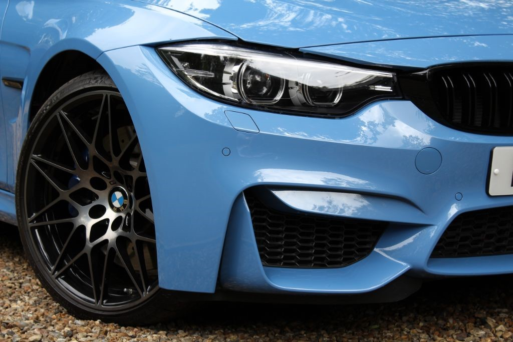 Used Yas Marina Blue Bmw M3 For Sale Hertfordshire