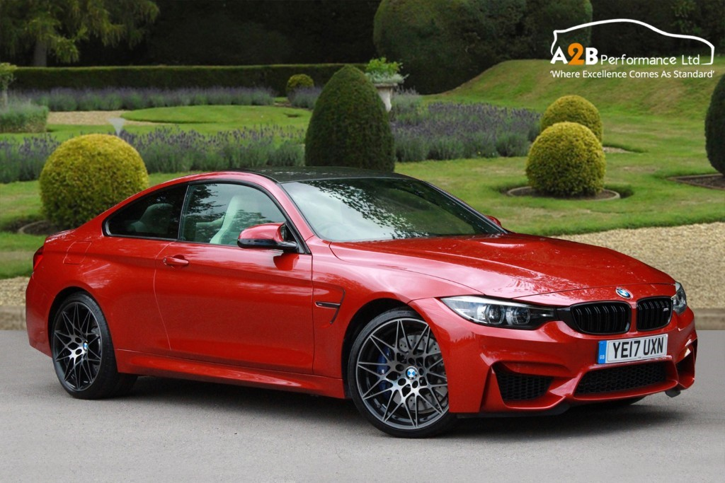 Used Sakhir Orange Bmw M4 For Sale Hertfordshire