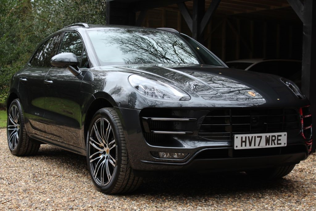 Used Volcano Grey Porsche Macan For Sale Hertfordshire