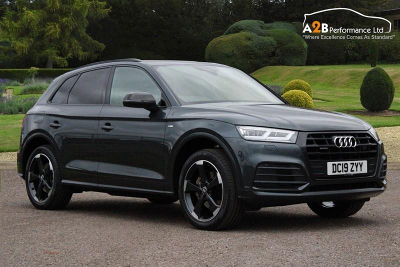 used Audi Q5 TDI QUATTRO S LINE BLACK EDITION in watford-hertfordshire