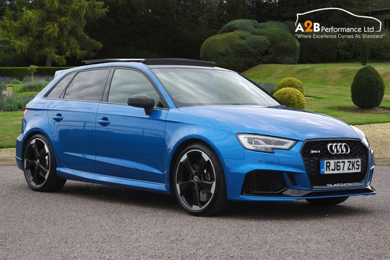used Audi RS3 RS 3 TFSI QUATTRO in watford-hertfordshire