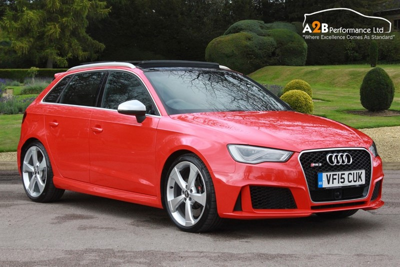 used Audi RS3 SPORTBACK QUATTRO in watford-hertfordshire