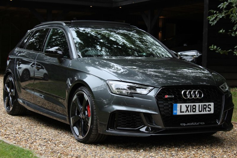 used Audi RS3 RS 3 QUATTRO in watford-hertfordshire