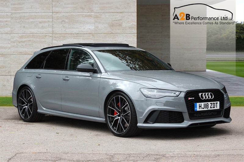 used Audi RS6 PERFORMANCE AVANT TFSI QUATTRO in watford-hertfordshire