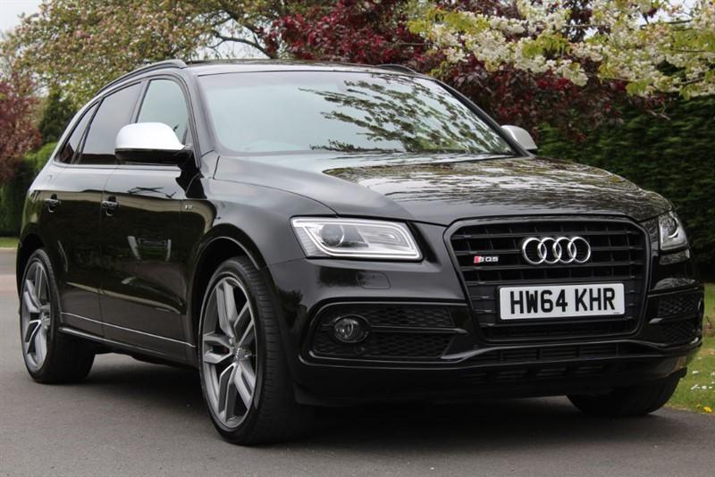 used Audi SQ5 SQ5 TDI QUATTRO in watford-hertfordshire