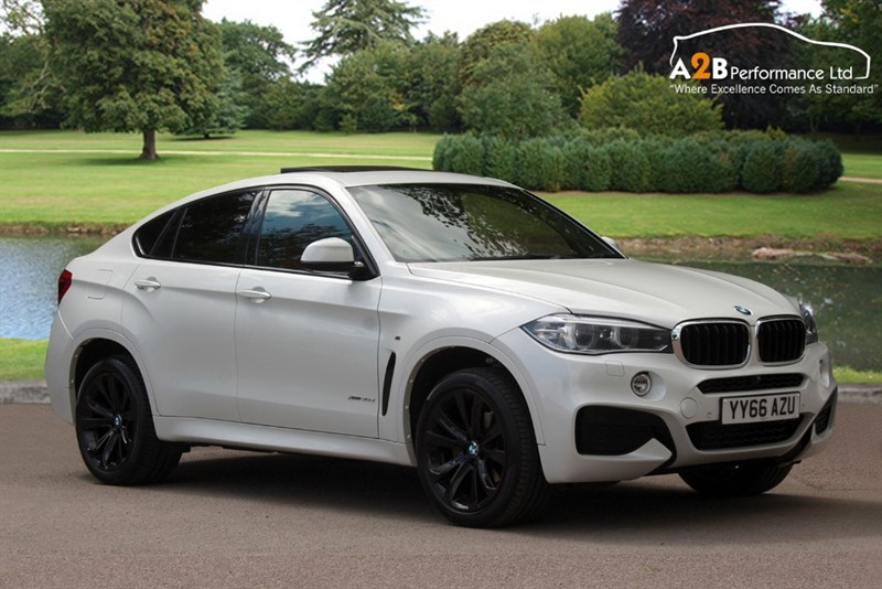 used BMW X6 XDRIVE30D M SPORT in watford-hertfordshire
