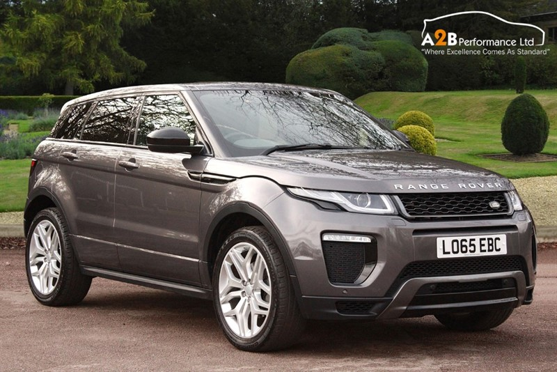 used Land Rover Range Rover Evoque TD4 HSE DYNAMIC in watford-hertfordshire