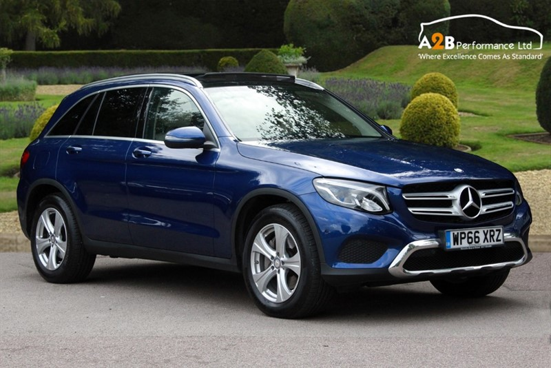 used Mercedes 250 GLC  D 4MATIC SPORT PREMIUM PLUS in watford-hertfordshire