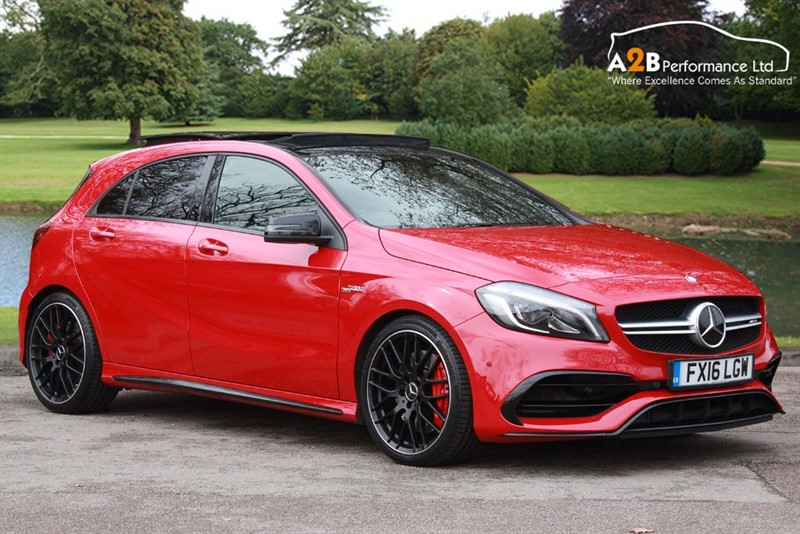 used Mercedes A45 AMG AMG A 45 4MATIC PREMIUM in watford-hertfordshire