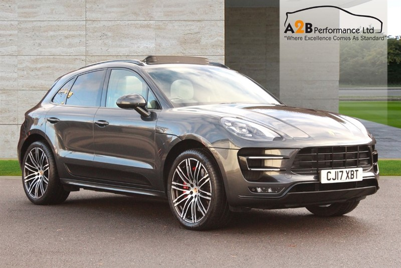 used Porsche Macan TURBO PERFORMANCE PDK in watford-hertfordshire