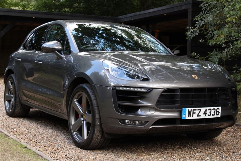 used Porsche Macan TURBO PDK in watford-hertfordshire