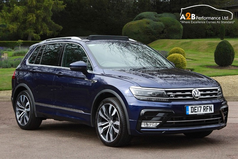 used VW Tiguan R LINE TSI BMT 4MOTION DSG in watford-hertfordshire