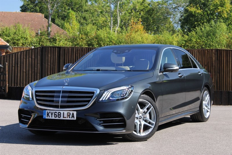 used Mercedes 350 S  D L AMG LINE EXECUTIVE PREMIUM PLUS in hampshire