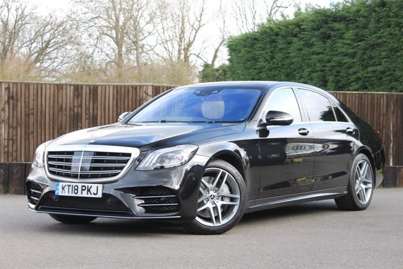 used Mercedes 350 S  D L AMG LINE PREMIUM PLUS in hampshire