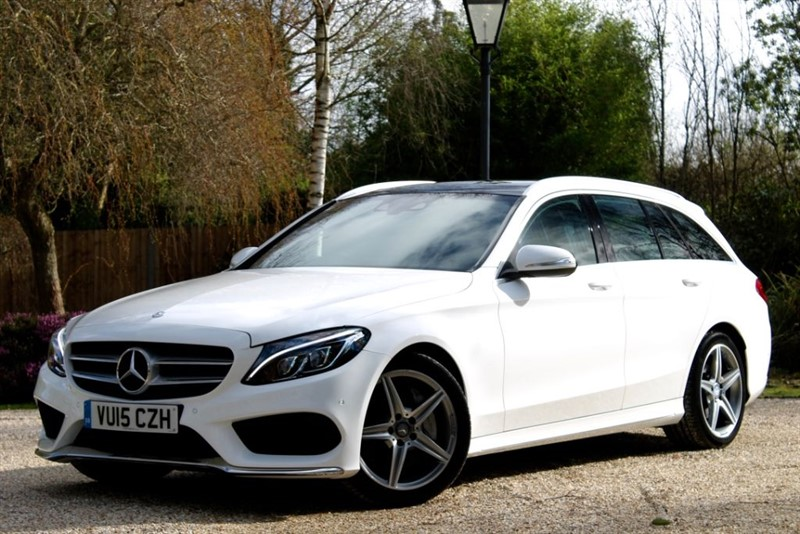 used Mercedes C250 d AMG LINE in hampshire