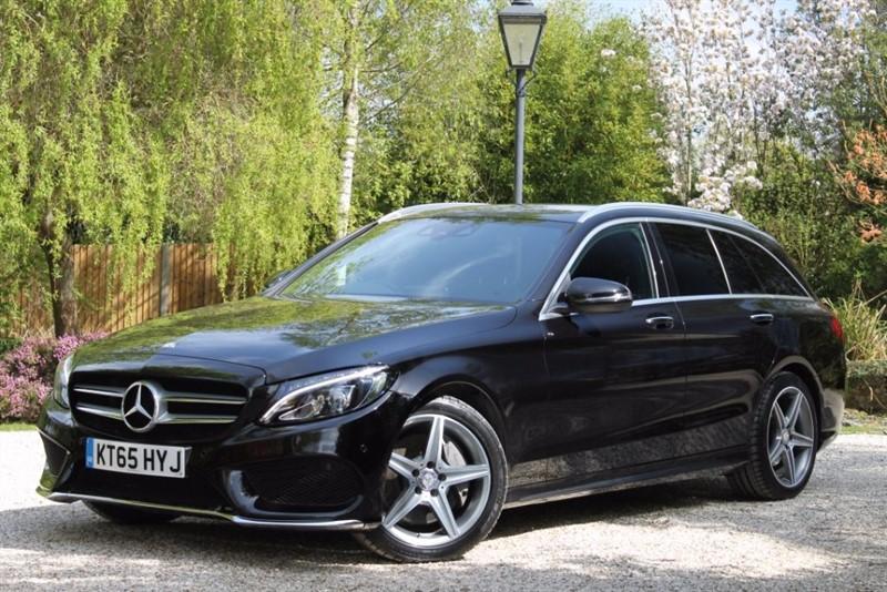 used Mercedes C250 d AMG LINE PREMIUM PLUS in hampshire