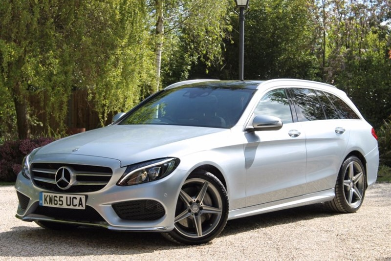 used Mercedes C250 d AMG LINE PREMIUM PLUS in hampshire