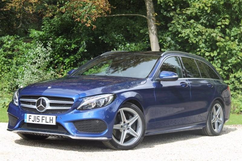 used Mercedes C250 BLUETEC AMG LINE PREMIUM in hampshire