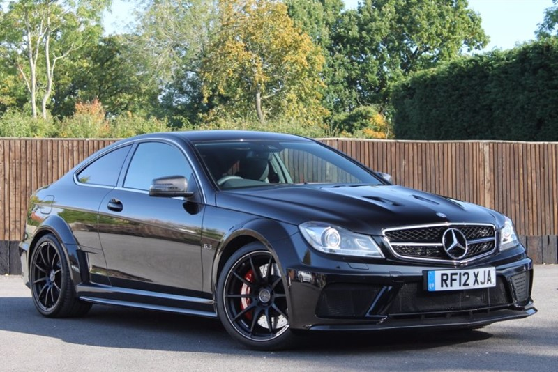 used Mercedes C63 AMG BLACK SERIES in hampshire