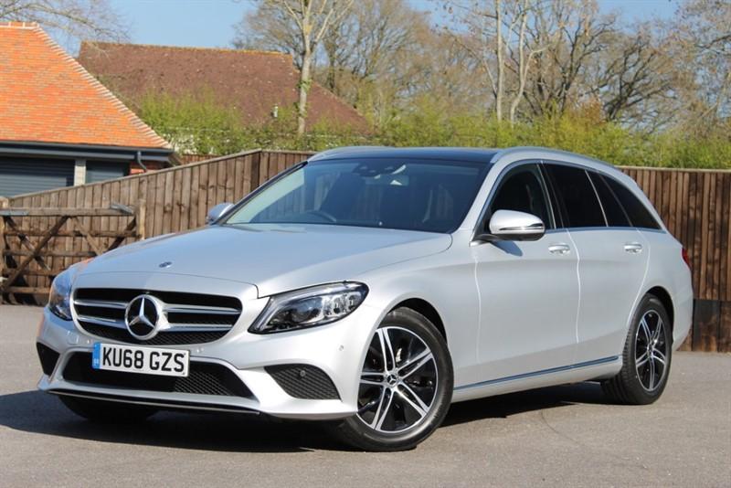 used Mercedes C220 d SPORT PREMIUM PLUS in hampshire
