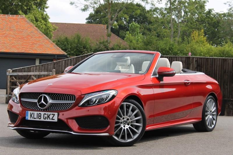 used Mercedes C300 Cabriolet AMG Line Premium Plus in hampshire