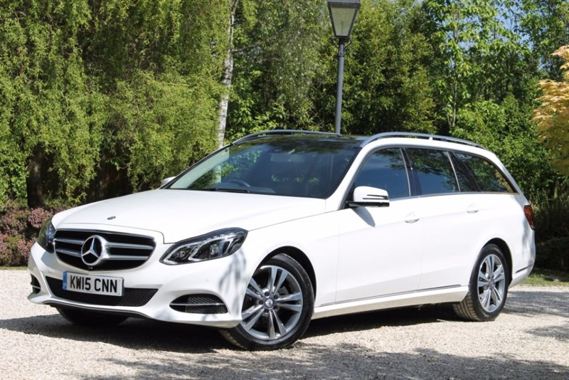 used Mercedes E220 BLUETEC SE PREMIUM in hampshire