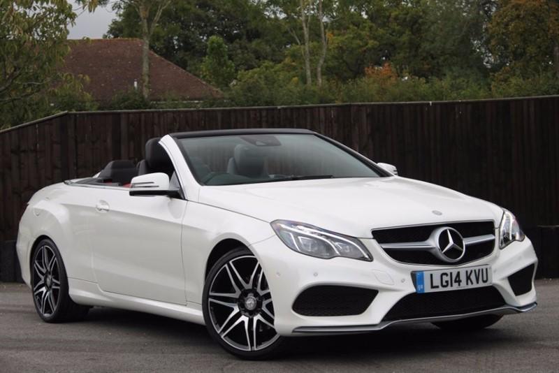 used Mercedes E250 CDI AMG SPORT in hampshire