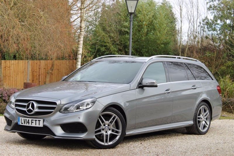 used Mercedes E350 BLUETEC AMG SPORT in hampshire
