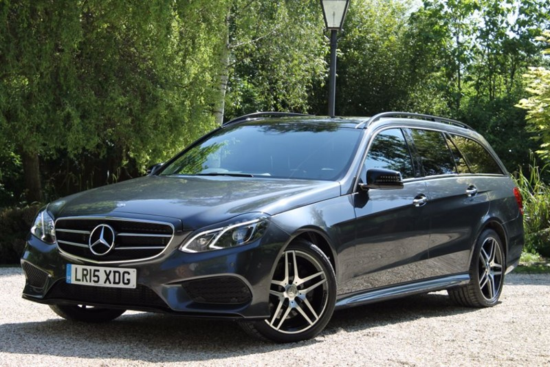 used Mercedes E350 BLUETEC AMG NIGHT EDITION PREMIUM in hampshire