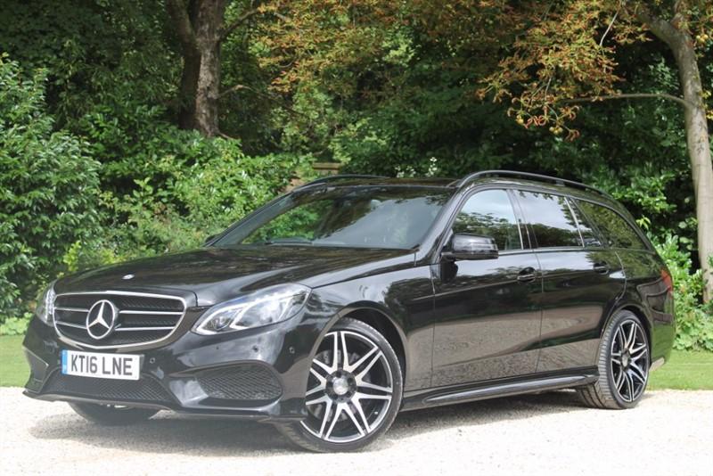 used Mercedes E350 BLUETEC AMG NIGHT EDITION PREMIUM in hampshire