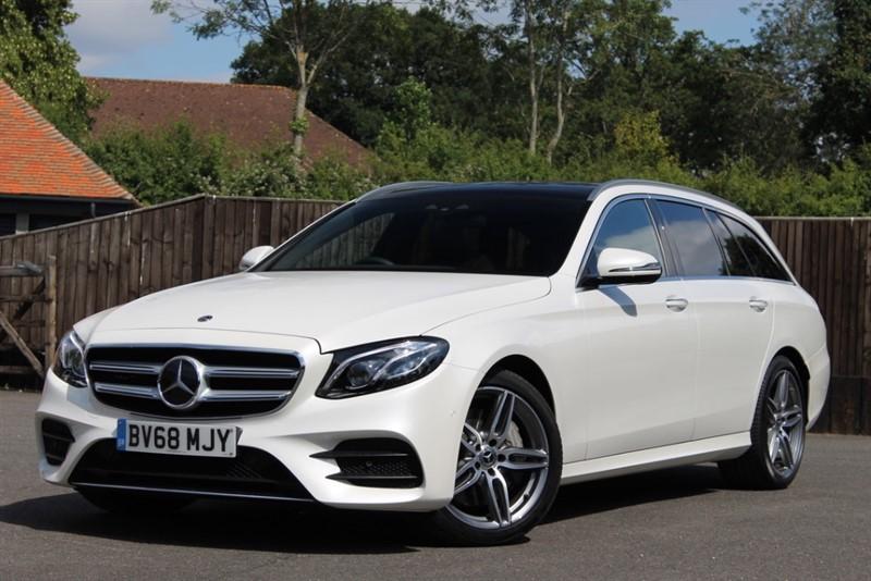 used Mercedes E400 d 4Matic AMG Line Premium Plus in hampshire