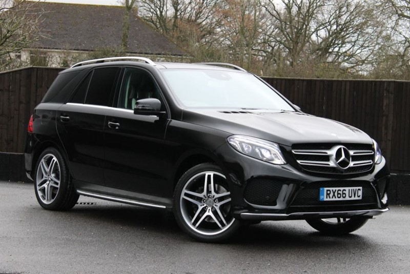 used Mercedes GLE350 D 4MATIC AMG LINE PREMIUM in hampshire