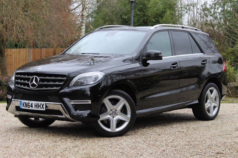used Mercedes ML350 BLUETEC AMG LINE in hampshire