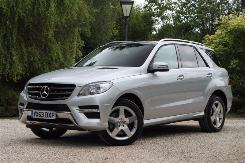 used Mercedes ML350 BLUETEC AMG SPORT in hampshire