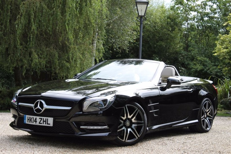 used Mercedes SL 400 AMG SPORT in hampshire