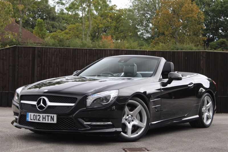 used Mercedes SL SL500 in hampshire