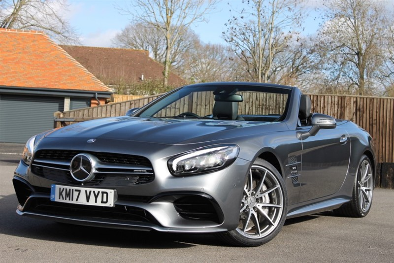 used Mercedes SL 63 AMG in hampshire