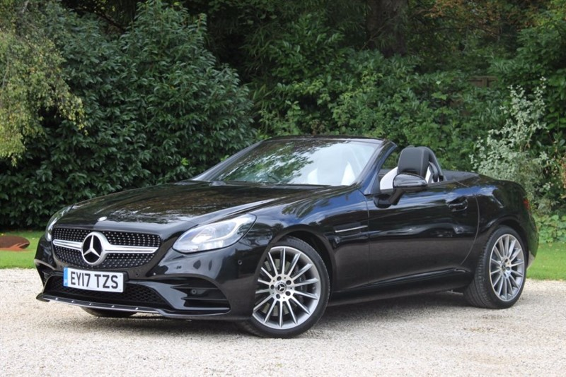 used Mercedes SLC250d AMG LINE in hampshire