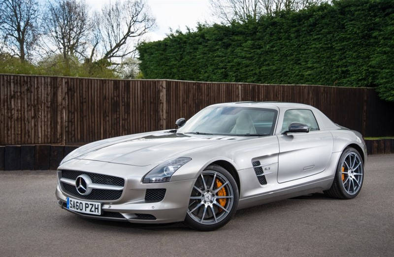 used Mercedes SLS AMG in hampshire