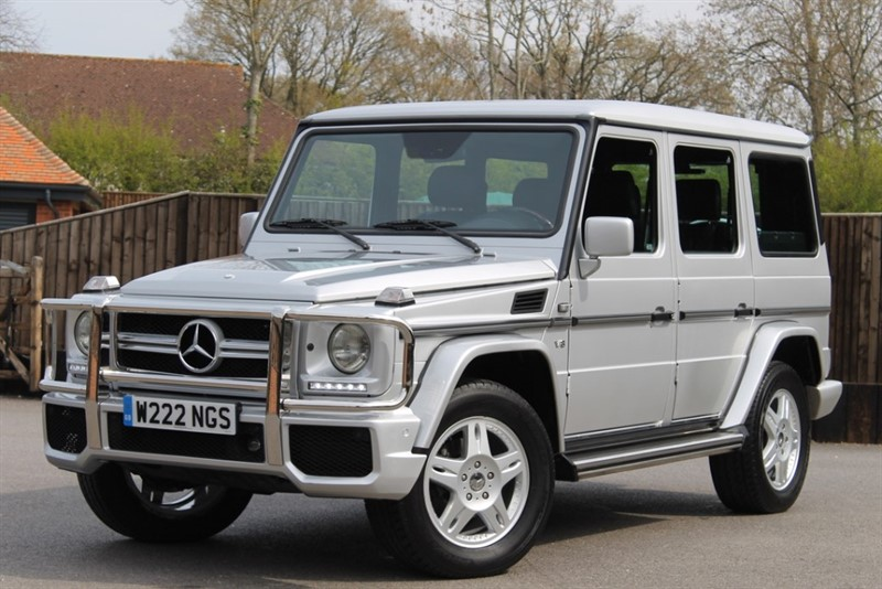 used Mercedes  G500 LWB 4X4 (LHD) in hampshire