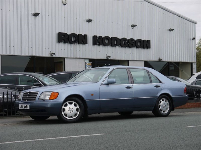 used Mercedes 600 SEL in lancashire